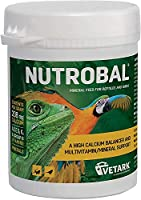 """A vitamin/mineral supplement specifically formulated as a high calcium """"balancer """" for insectivorous reptiles and birds, to assist in correcting the inadequate levels of calcium present in live insectivorous foods such as crickets and mealworms. The ..."""