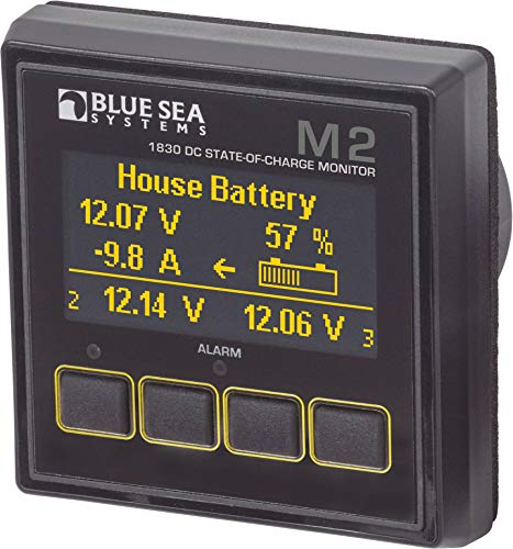 Blue Sea Systems M2 OLED DC SOC Meter