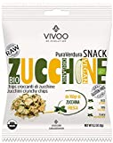 Vivoo Pura Verdura - Chips Croccanti di Zucchine, Confezione da 6 x 8 g