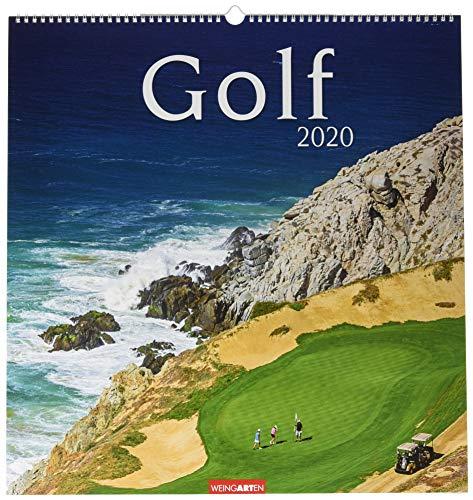 Golf. Wandkalender 2020. Monatskalendarium. Spiralbindung. Format 46 x 48 cm
