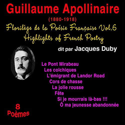 Couverture de Guillaume Apollinaire