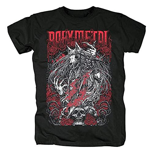 PIKANCHI Tシャツ Babymetal プリントTシャツ 夏服 トップス 半袖 無地 通気性 ファッション ゆったり 男女兼用