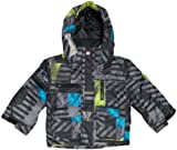 Quiksilver Minimax - Chaqueta de esquí para niño, tamaño 104, Color Gris