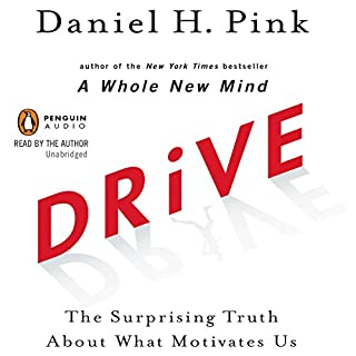 Drive     The Surprising Truth About What Motivates Us              De :                                                                                                                                 Daniel H. Pink                               Lu par :                                                                                                                                 Daniel H. Pink                      Durée : 5 h et 53 min     Pas de notations     Global 0,0