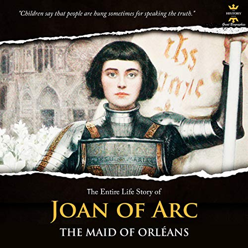 『Joan of Arc: The Maid of Orléans』のカバーアート