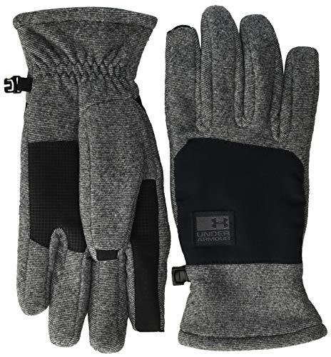 Under Armour Herren Handschuhe Men's CGI Fleece Glove, Schwarz, MD, 1343217-001