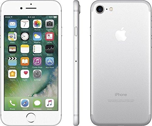 iPhoneCPO Apple iPhone 7 11,9 cm (4.7') 2 GB 32 GB SIM única 4G Plata Renovado 1960 mAh - Smartphone (11,9 cm (4.7'), 2 GB, 32 GB, 12 MP, iOS 10, Plata)