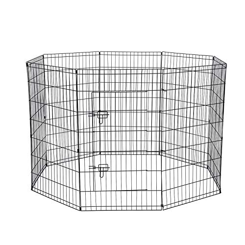 Dog Exercise Pen Pet Playpens for Dogs - Puppy...