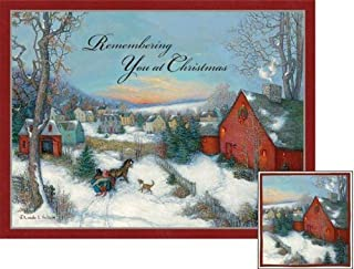 Christmas In The Village Deluxe Boxed Christmas Cards