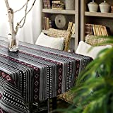 MCZ Waschbare Tischdecke Gestreifte Tischdecke Tischmatte Tischdeckenbezug Tuch Exotic Style Home, Hotel Restaurant Tischdecke (60 * 60cm)
