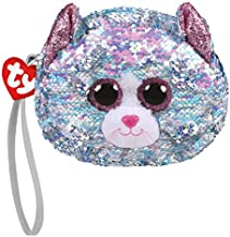Ty TY95233 Whimsy The Cat Sequins Plush Purse 10 cm Multicoloured