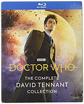 Doctor Who  The Complete David Tennant Collection  Blu-ray