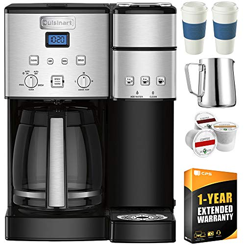 Cuisinart SS-15 12-Cup Coffee Maker and Single-Serve Brewer