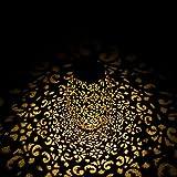 TOGAVE Solar Laterne Außen, IP44 Wasserdicht Dekorativ Solarlaterne für Außen Warmweiß Solarlampe Outdoor Dekorationen für Garten, Terrasse, Hof [Energieklasse A+]