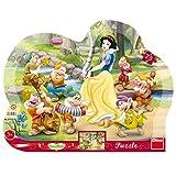 Dino Toys 311237 - Puzzle con Marco, diseño de Princesas Disney