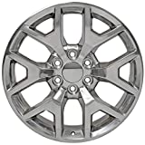 Partsynergy Replacement For 20' Rim fits 1999-2018 GMC Sierra 1500 Honeycomb Polished 20x9 Wheel
