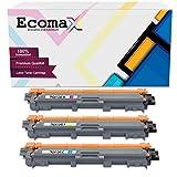 Ecomax - 3 cartuchos de tóner de color compatibles con Brother TN-245C TN-245M TN-245Y para Brother DCP-9022CDW MFC-9142CDN MFC-9342CDW MFC-9332CDW HL-3140CDW HL-3150CDW