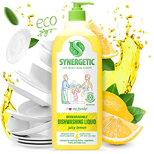 Gel de lavado sinérgico biodegradable 'limón', 1 L