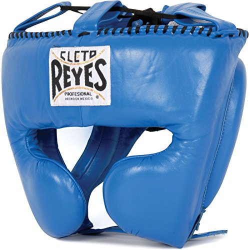 Reyes Headgear W Cheek Protection, Color Azul, tamaño Large