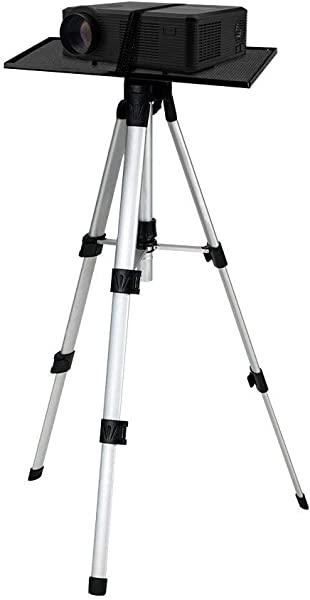 Boshen Portable Projector Mount Tripod Stand With Tray Adjustable Height 19 69 55 12 For Vedio TV Multimedia Laptop Notebook Computer
