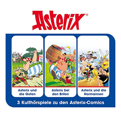 Asterix - Hörspielbox 3 Titelbild