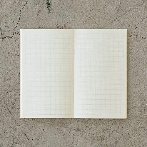 ミドリ『MDノートライト<新書>方眼罫3冊組』