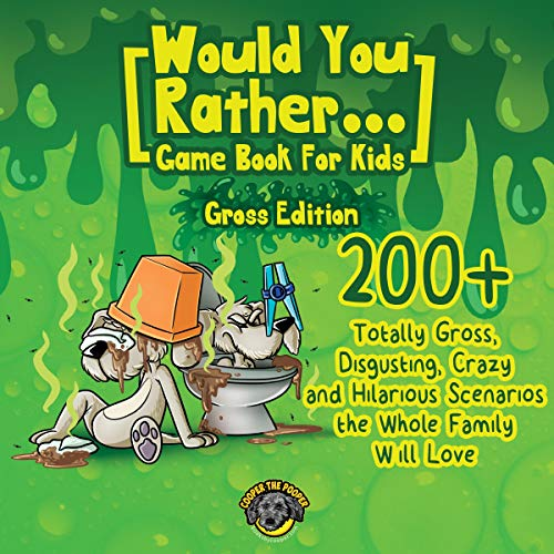 Would You Rather Game Book for Kids (Gross Edition) Titelbild