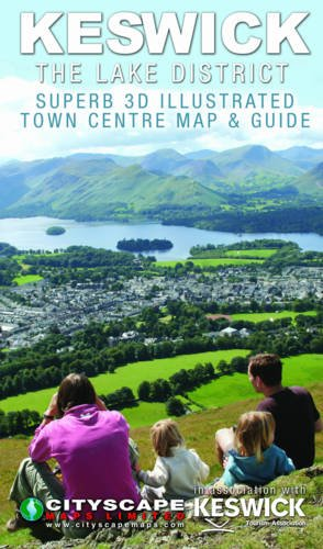 Keswick, The Lake District 2011: Superb 3D Illustrated Map & Guide
