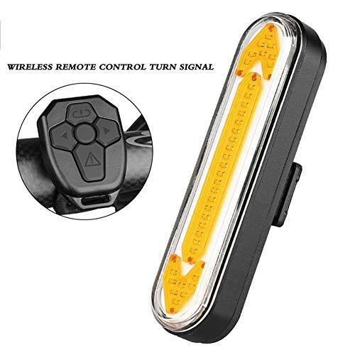 CYSHAKE Fahrrad Rücklichter Smart Fahrrad Licht Fernbedienung Blinker USB Wiederaufladbare wasserdichte Hohe Intensität Helm Rucksack Roller LED Lampe