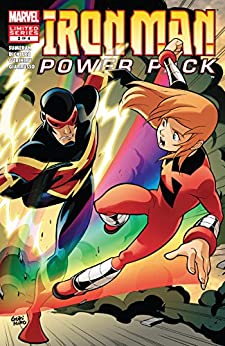 Iron Man and Power Pack (2007-2008) #2 (of 4) by [Marc Sumerak, Gurihiru, Marcelo Di Chiara]