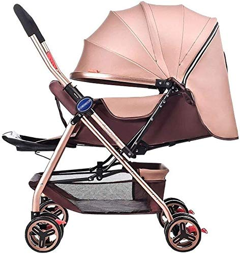 Great Features Of Baby Trolley,Newborn Baby Carriage Foldable Can Sit and Lie Down Damping Baby Cart...