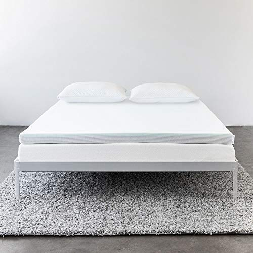 Molecule Triple-Zone Mattress Topper - Engineered for Cooling Comfort, Performance and Recovery with Optimal Support and Pressure Relief (Full)