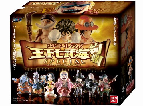 One Piece Collection The Seven Warlords of the Seas (shichibukai) Set de 10 Figurines