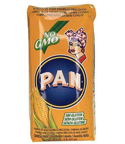 Harina de Maiz Amarilla Precocida P.A.N.