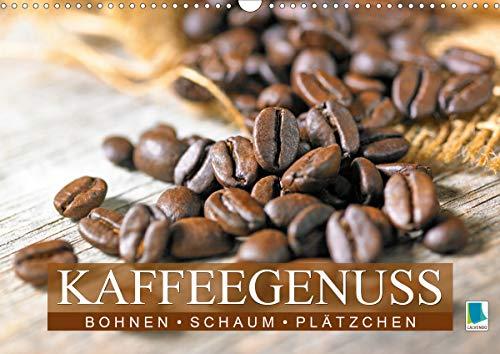 Bohnen, Schaum & Plätzchen: Kaffeegenuss (Wandkalender 2021 DIN A3 quer)