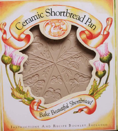 Brown Bag Design Butterfly Shortbread Cookie Pan, 11-1/2-Inch by 9-Inch
