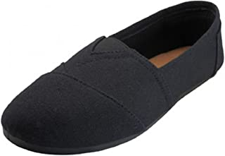 EasySteps Women's Canvas Slip-On Shoes with Padded Insole