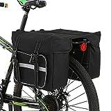 Lixada Bicycle Pannier Bag Waterproof Bike Rear Rack Bag Bike Seat Pannier Cycling Rear Carrier Bag Road Bike...