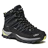 CMP Damen Trekking Schuhe Rigel MID 3Q12946 Nero-Lime 41