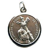 Medalla Cristo DE LOS GITANOS 26 mm Plata DE Ley