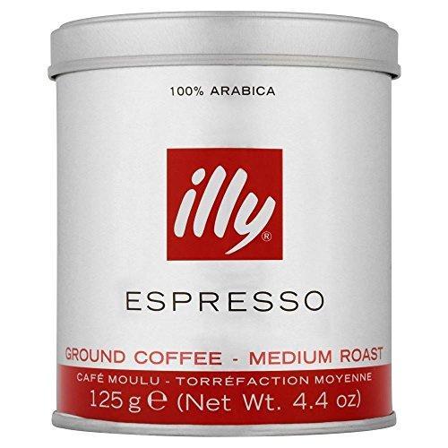 Illy Espresso Roast Medium (125g) - Packung mit 2