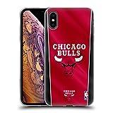 Head Case Designs sous Licence Officielle NBA Bannière Chicago Bulls Coque en Gel Doux Compatible...
