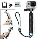 Tomcrazy Waterproof Hand Grip Adjustable Handle Mount Selfie Stick Water Sport Mount