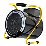 Chauffage électrique , Ventilateur chauffant constant - Ventilateur à économie d'énergie - Chauffage électrique domestique à haute puissance - Chauffage électrique 9000W noir - Niveaux de régulation