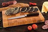 MTM Wood Tablas de Cortar Cocina de Madera Abedul Color Marrón Claro, End Grain, Tablas de Picar de Tamaño Diferente (30 x...