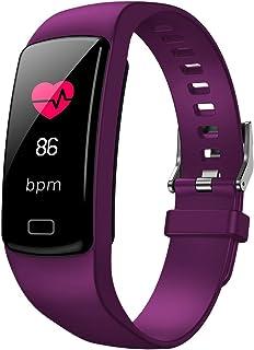 Pulsera de Actividad Inteligente Reloj Mujer Hombre Reloj Fitness Podómetro con Pulsómetro y Presión Arterial Relojes Deportivos GPS Impermeable IP67 reloj deportivo