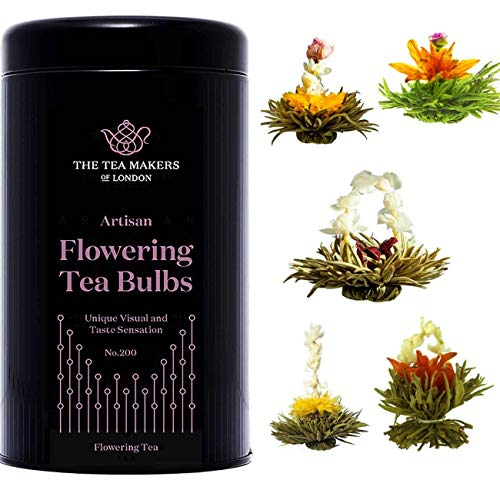 The Tea Makers of London Flowering Tea Gift Caddy - 10 Bulbs