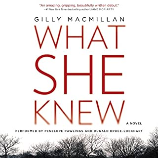 What She Knew audiobook cover art
