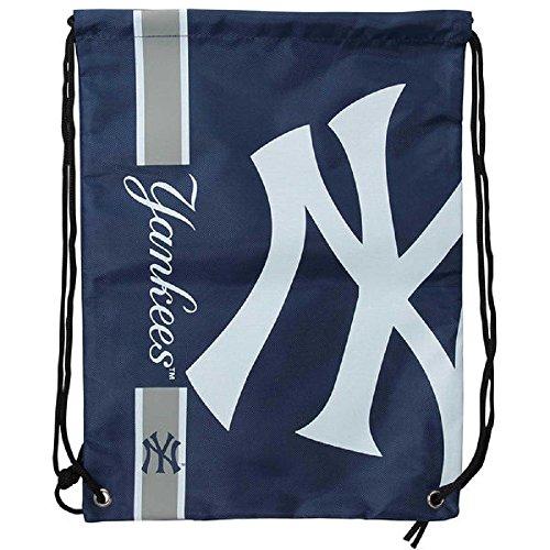 FOCO New York Yankees Rucksack mit großem Logo und Kordelzug.