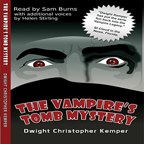 The Vampire's Tomb Mystery audiobook cover art